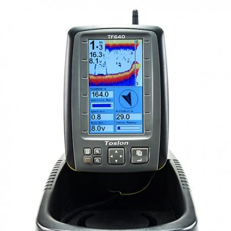 Echosondeur toslon couleur 640 + GPS et boussole