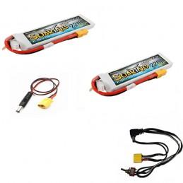 Kit batterie lithium avec chargeur pour alf500 - tf500 toslon - tolson tf640 et 630